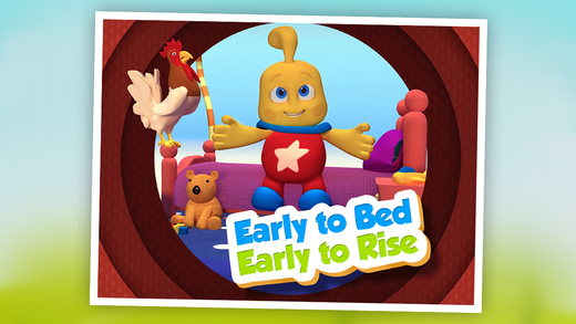 Early to Bed Early to Rise: TopIQ Story Book For Children in Preschool to Kindergarten