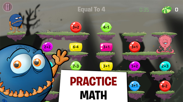 Monster Math – Free Fun Maths Game For Grades 2-5 – Learning Arithmetic for Kids
