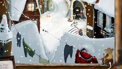 Christmas Town - large Advent Calendar
