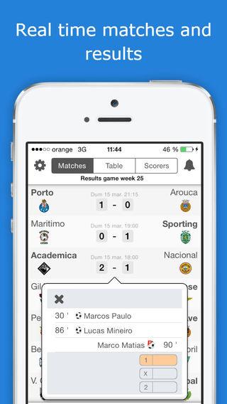 Primeira Liga Livescore PRO Version - Portugal Football League