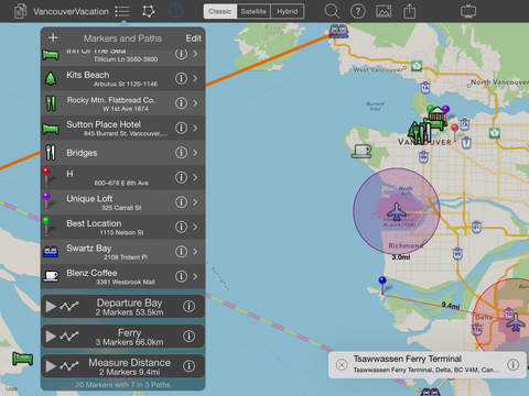 MapProjector - Make Measure Share and Show your Maps