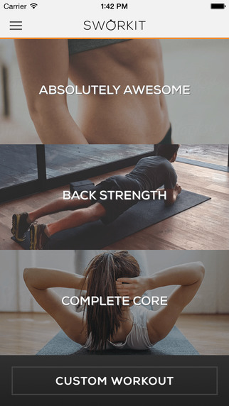Ab Core Sworkit - Free Workout Trainer for Six Pack Abs and Back Strength