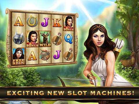 iPad Image of Riches of Zeus Free Casino Slots: An Epic Odyssey through Mount Olympus and Mythology with the Greek Gods