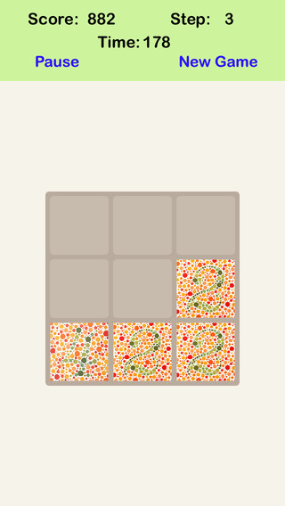 Color Blind² 3X3 - Sliding Number Tiles Who Can Get Success Within 11 Steps
