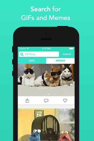 Zest - Share Funny GIFs and Memes screenshot 2