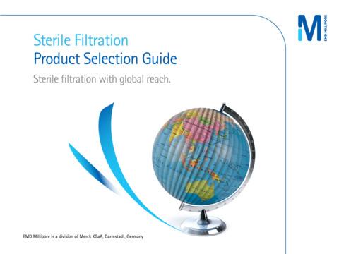 EMD Millipore Sterile Selector App