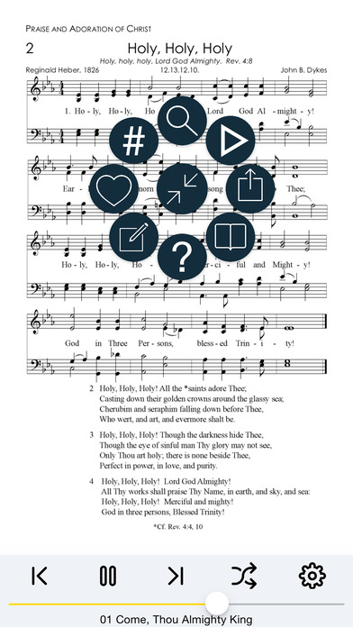 Christ In Song iPhone Screenshot 2
