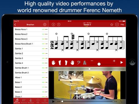 Drum School iPad Screenshot 1