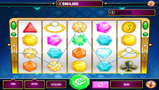 Big Heart Wild Diamond Cash Casino Slots Showdown