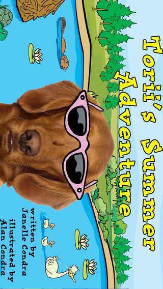 Torii's Summer Adventure – Interactive Storybook for Kids and Dog Lovers