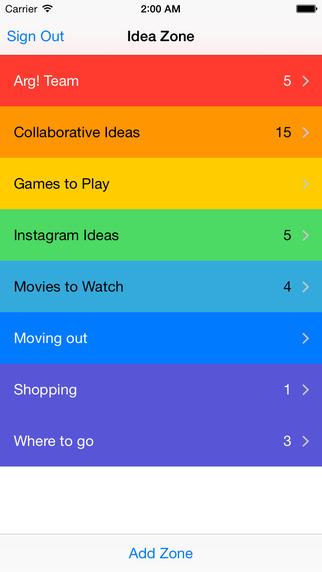 玩免費生產應用APP|下載Idea Zone app不用錢|硬是要APP