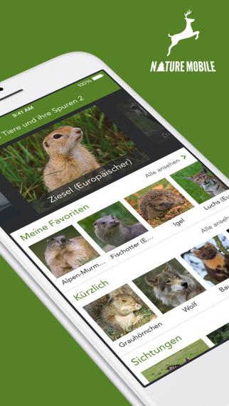 Wilde Tiere und Spuren 2 PRO - Lesen erkennen und bestimmen