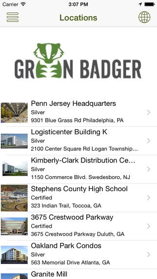 Green Badger LEEDFinder