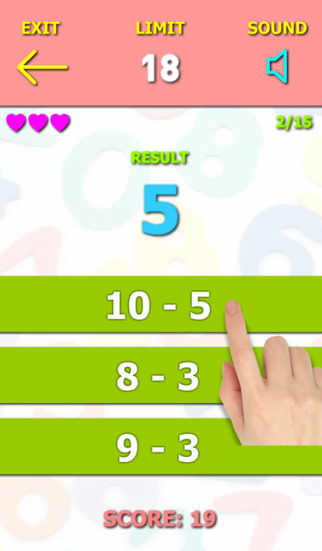 Those Numbers 3 - Free Math Game