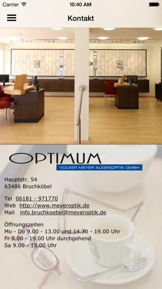 OPTIMUM - Volker Meyer Augenoptik GmbH