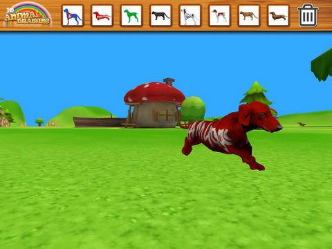 【免費教育App】3D Animal Drawing-APP點子