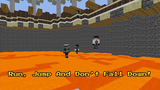 QuickSand - Ground Collapse 3D Online Multiplayer MiniGame Screenshot