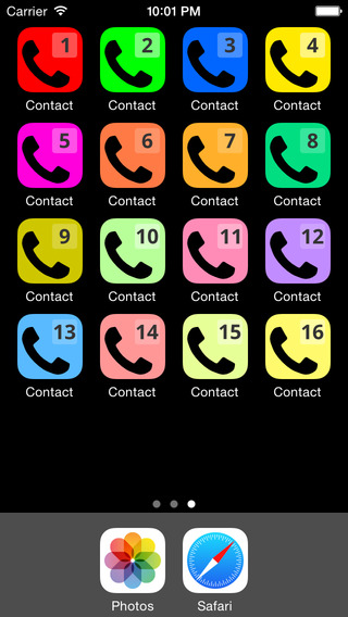 Speed Dial Contact 12