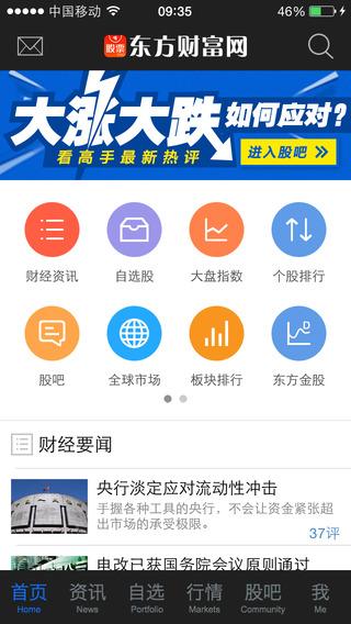 东方财富网领先版