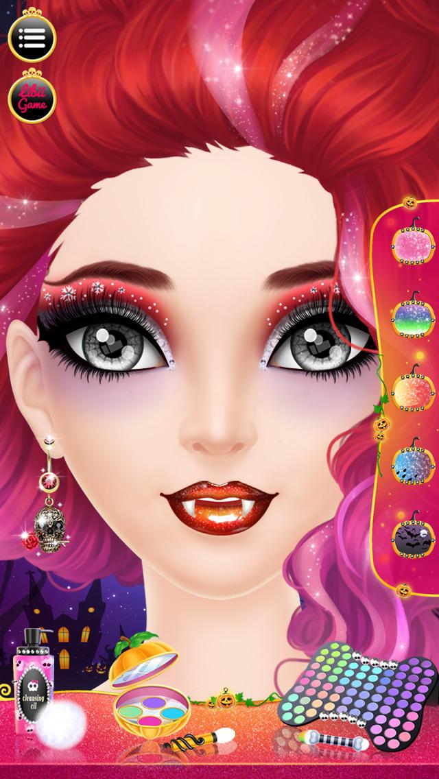 Play Make Up Me Halloween Game Online Make Up Me Halloween