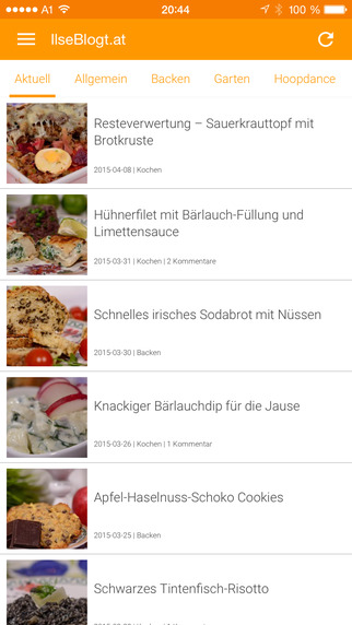 IlseBlogt - Kochen Garten Hoopdance App