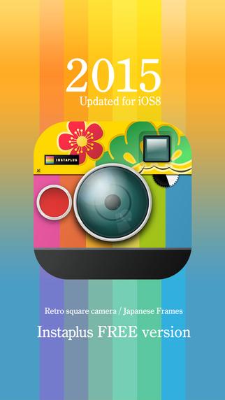 InstaplusAS - Japanese Greeting Nenga Card Camera 2015 version 100 Frames Social posting