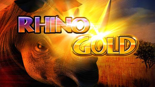 Rhino Gold Slot Game - FREE
