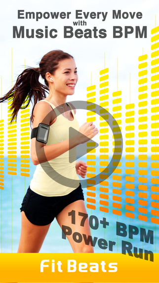 Fit Beats – Workout Exercise Playlists Songs with Rhythm BPM Beat Per Minute for SoundCloud