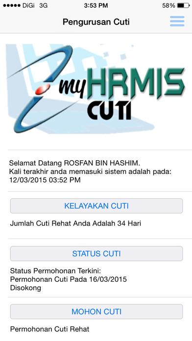 Petikan Skrin iPhone 2