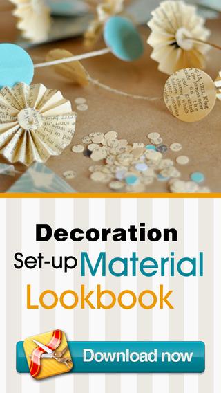 Decoration Set-up Material Lookbook