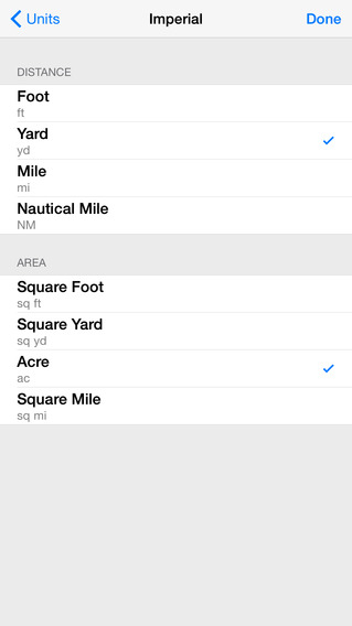 Planimeter • Measure Map Distance and Area Calculator iPhone Screenshot 2