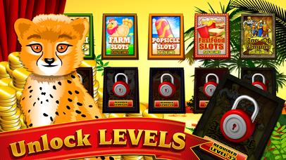 Screenshot 3 Безумный дикий лев сафари в темный лес джунгли Мега Казино Вегас стиль