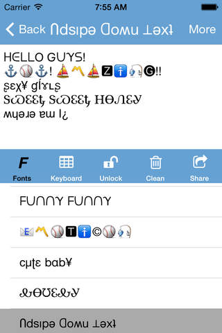 Funny Fonts Cool Text Styles New Symbols For Imessage Facebook