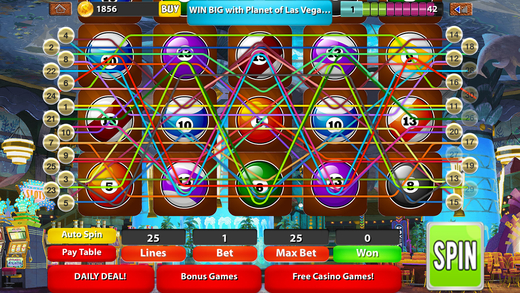 Planet of Las Vegas Slots Legacy PRO: The Perfect Tiny Casino Fantasy
