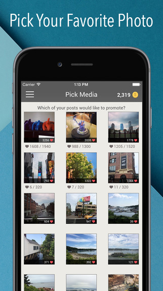 Get Likes for Instagram - Get more Likes on Instagram Screenshots