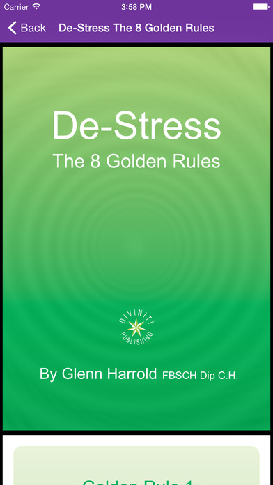 Instant Sleep by Glenn Harrold; a Self-Hypnosis Meditation for Relaxation iPhone Screenshot 5