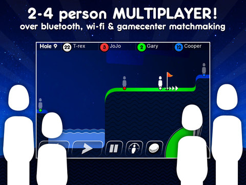 Super Stickman Golf iPad Screenshot 4
