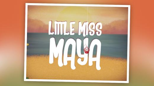 Little Miss Maya: 3D Interactive Story Book For Children in Preschool to Kindergarten