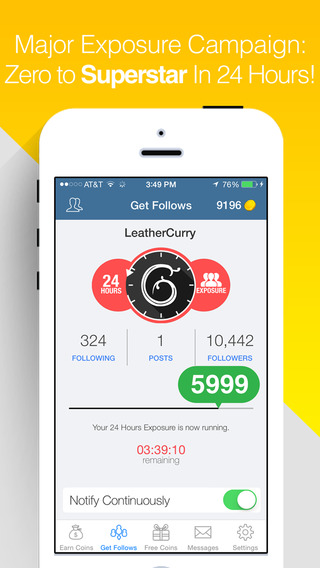 FastFollow Pro - Get Followers for Instagram and Boost your Popularity