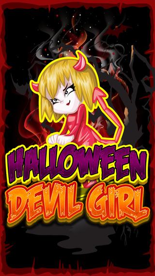 Horror Devil Girl Bubble Saga