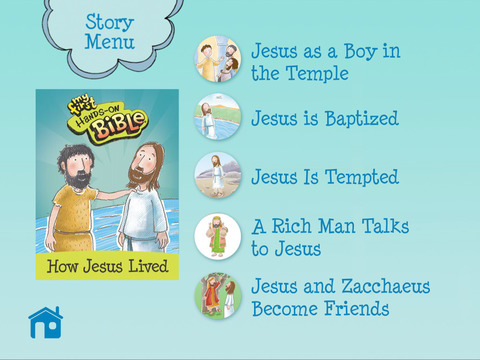 My First Hands-On Bible: How Jesus Lived