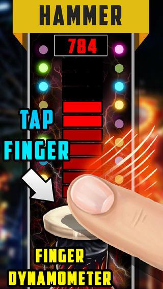 Simulator Finger Dynamometer