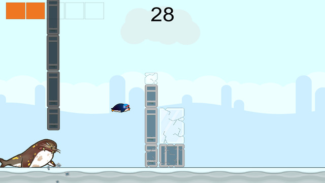Super Penguin Hop