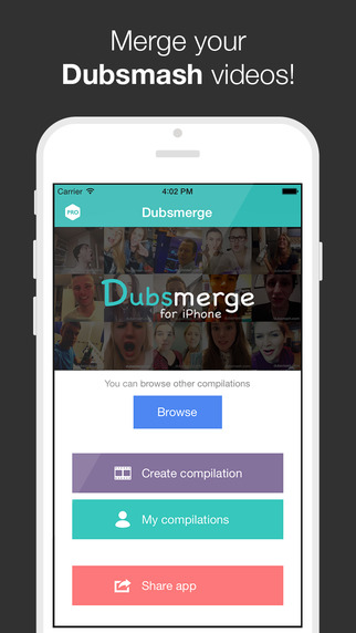 Dubsmerge PRO - Merge your Dubsmash videos no limi