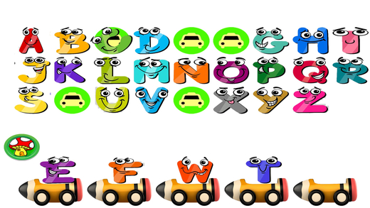 Toddler ABC Alphabet Ordering Pro