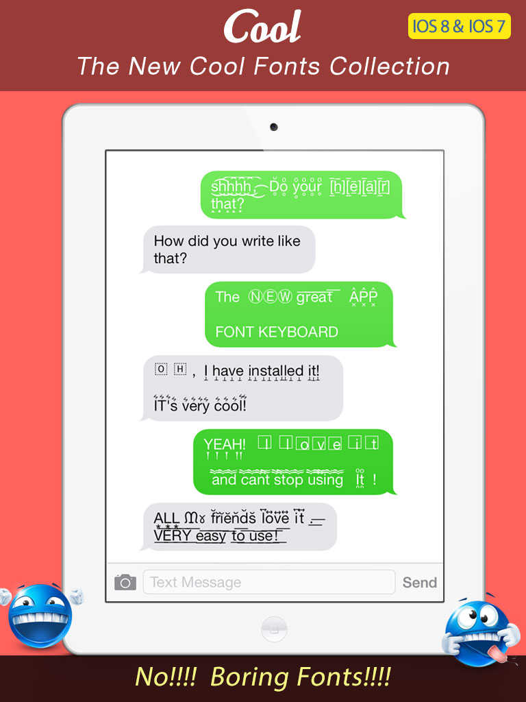 zenfone 2 how to send emoticons texting