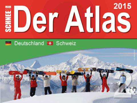 Skiatlas 2015 Band 2 Deutschland Schweiz
