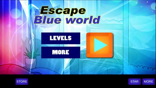 Escape blue world