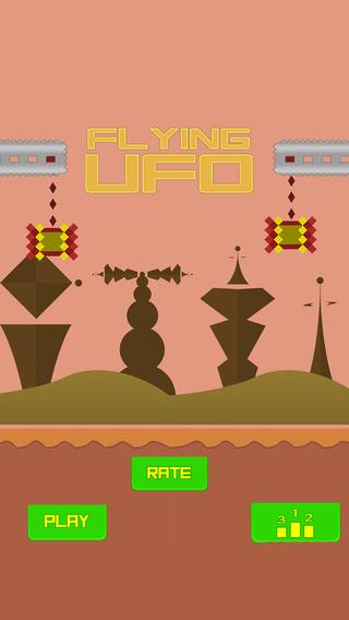 Flying UFO - Swing the Flight Santa