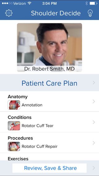 Shoulder Decide - Patient Engagement Tools for Healthcare Providers